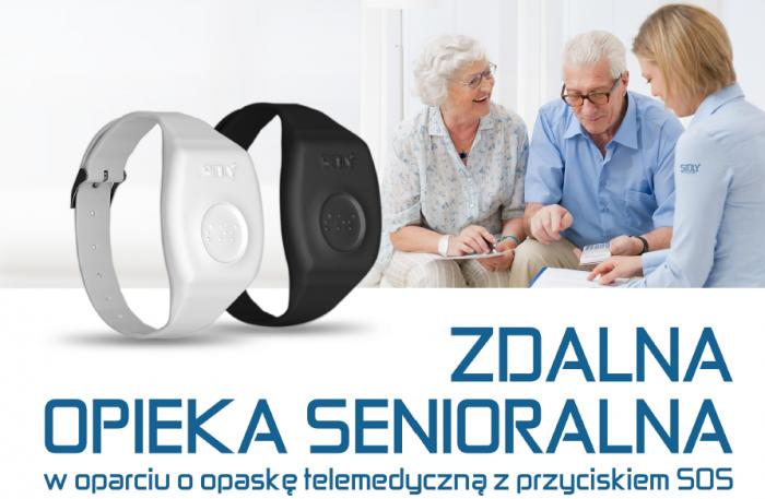 Pionki – skutecznie udzielona pomoc Seniorce dzięki opasce telemedycznej SiDLY. …