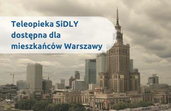 Opaski telemedyczne z teleopieką dla miast Warszawa
