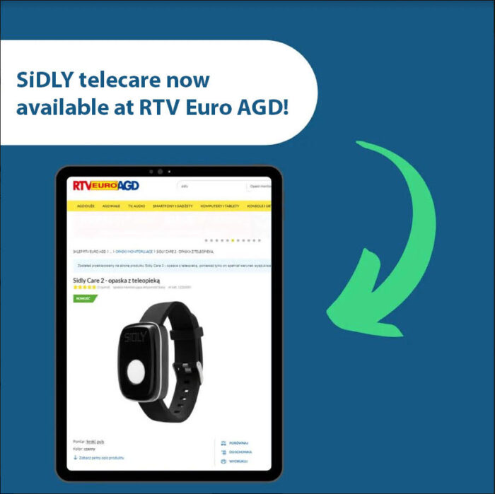 SiDLY as the first telecare company available in RTV Euro AGD – one of the largest …