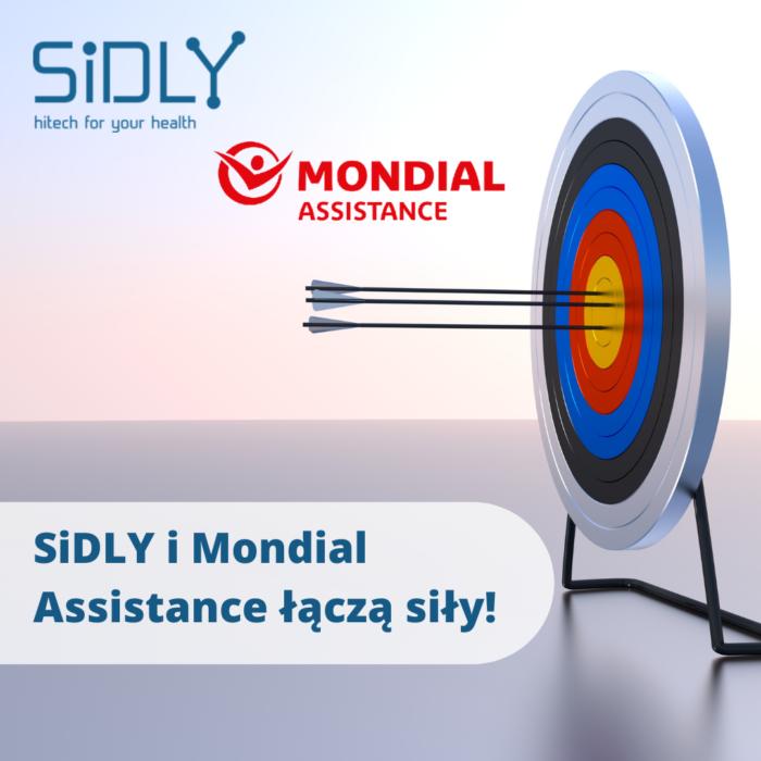 SiDLY i Mondial Assistance łączą siły we wspólnej ofercie teleopieki w pakietach ub …