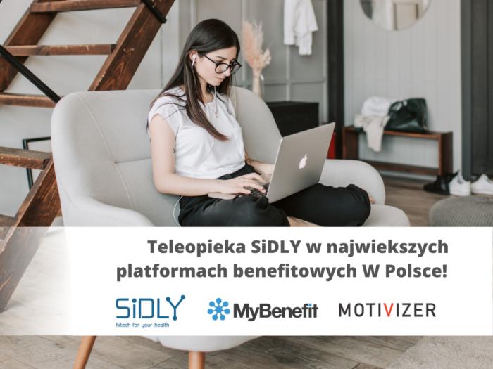 Teleopieka SiDLY dostępna w dwóch największych platformach benefitowych w Polsce –  …